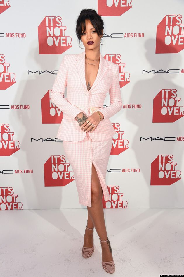 Rihanna Makes A Business Suit Look