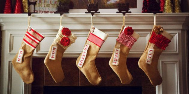 Christmas Stockings: 30 Personalized And Modern