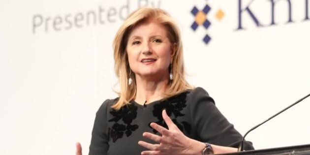 Arianna Huffington On Why Every Human Needs