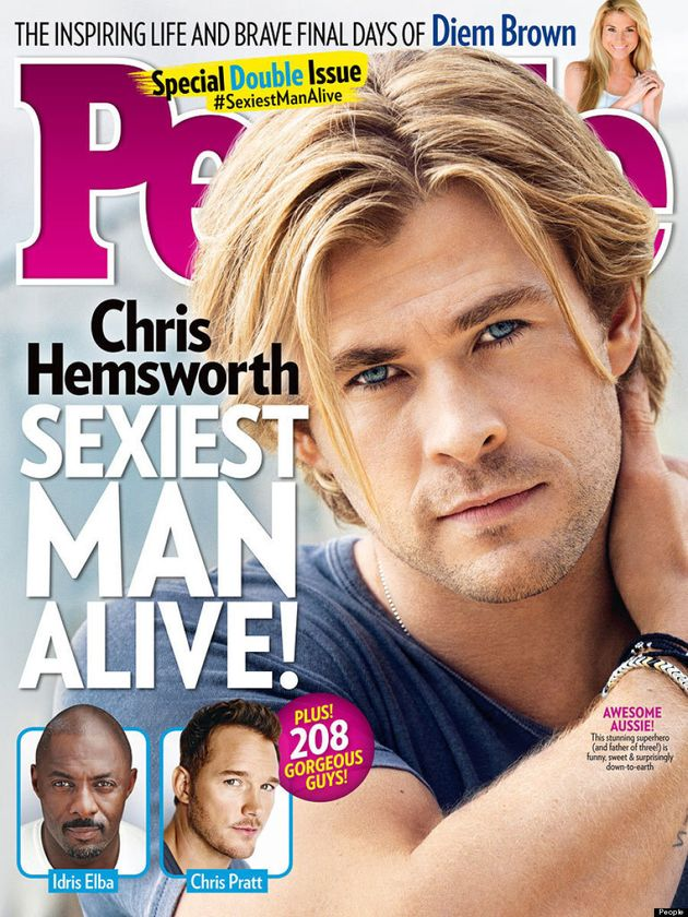 Chris Hemsworth Is People's 'Sexiest Man Alive' Of