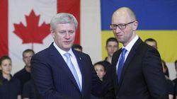 Ukraine Asks Harper To Arm Troops Against Rebels, More