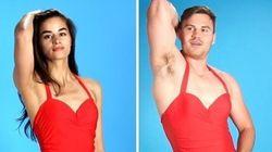 Men Trying On Women's Swimwear Looks Exactly Like You'd