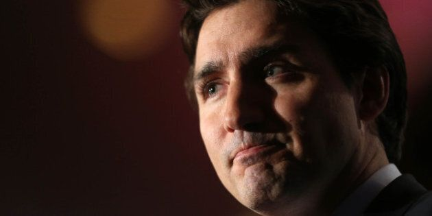 TORONTO, ON- MARCH 9 - Liberal Leader Justin Trudeau speaks at the Royal York Hotel about 'Liberty in...