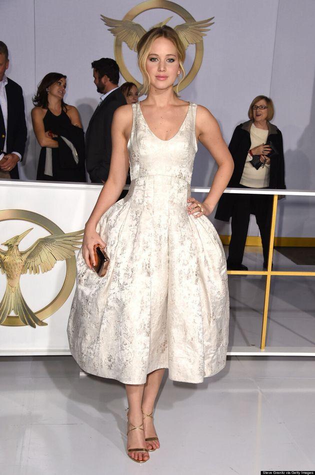 Jennifer Lawrence Channels Marie Antoinette In Dramatic Dior