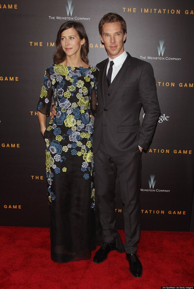 Benedict Cumberbatch And Sophie Hunter Make Red Carpet