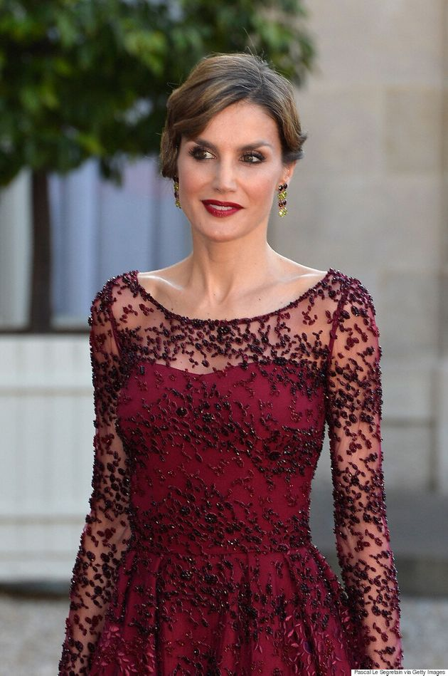 Queen Letizia's Glamorous Red Dress Proves She's A Fashion Force To Be Reckoned