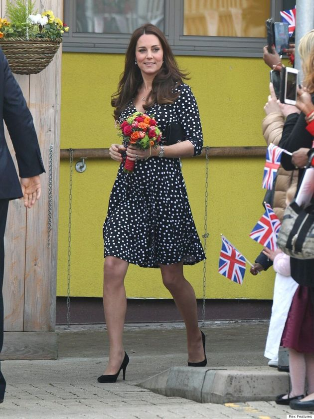 Kate Middleton's ASOS Dress Sells Out In Minutes After Children's Centre