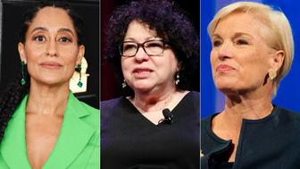 Tracee Ellis Ross, Sonia Sotomayor and Cecile Richards