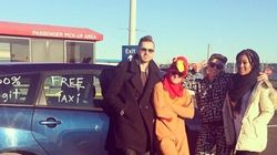 Vancouver Man Dressed As Rooster Offers Free