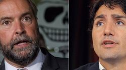 Mulcair Making Up Coalition Discussion, Liberals