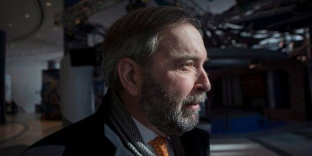 Mulcair: Niqab Debate A Matter For Courts, Not