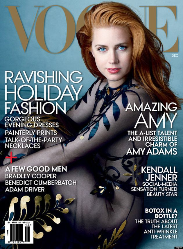 Amy Adams Goes Sheer For Vogue's December