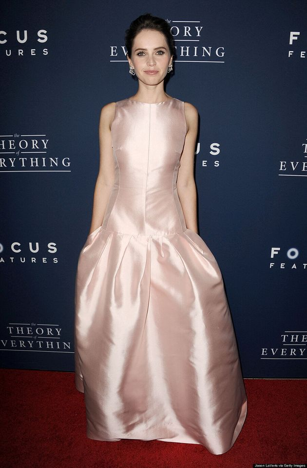 Felicity Jones Has A Breakout Style Moment In Stunning Dior