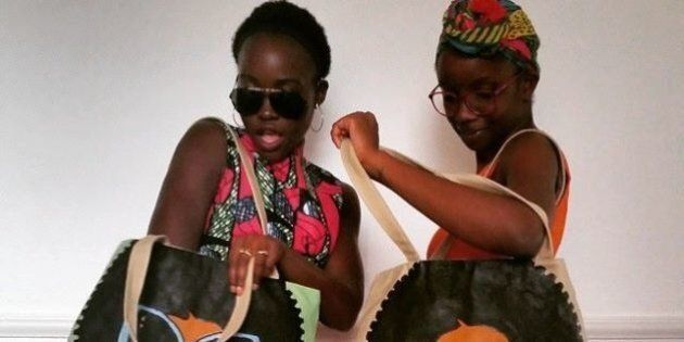 Lupita Nyong'o's Michael Soi Tote Is The Perfect Vacation