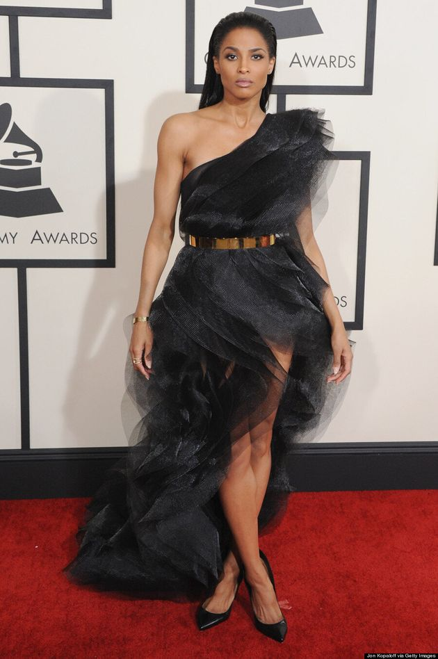 Ciara's Grammys 2015 Dress Looked Like A Chic Black