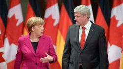 Merkel Thanks Harper For Ukraine