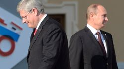 Harper To Putin: 'Get Out Of