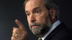 Mulcair's Harassment Plan Draws On Past