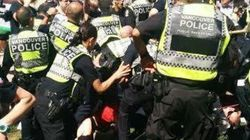 Police Use Pepper Spray At Vancouver Pot Protest