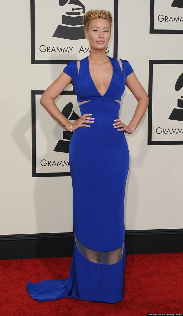 Iggy Azalea's Grammys Braid Crown Is A Sight To