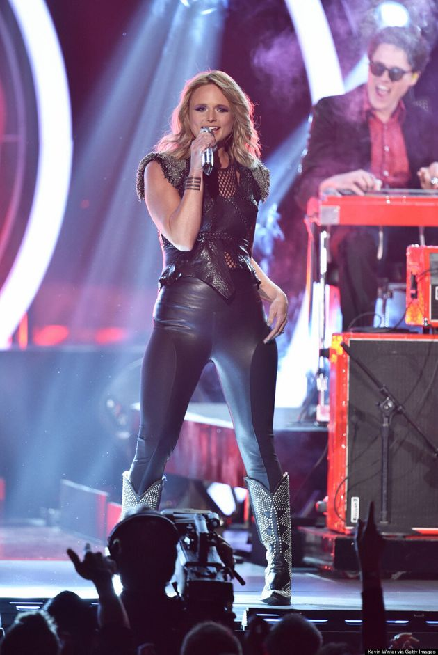 Miranda Lambert's 2015 Grammys Dress Is Super