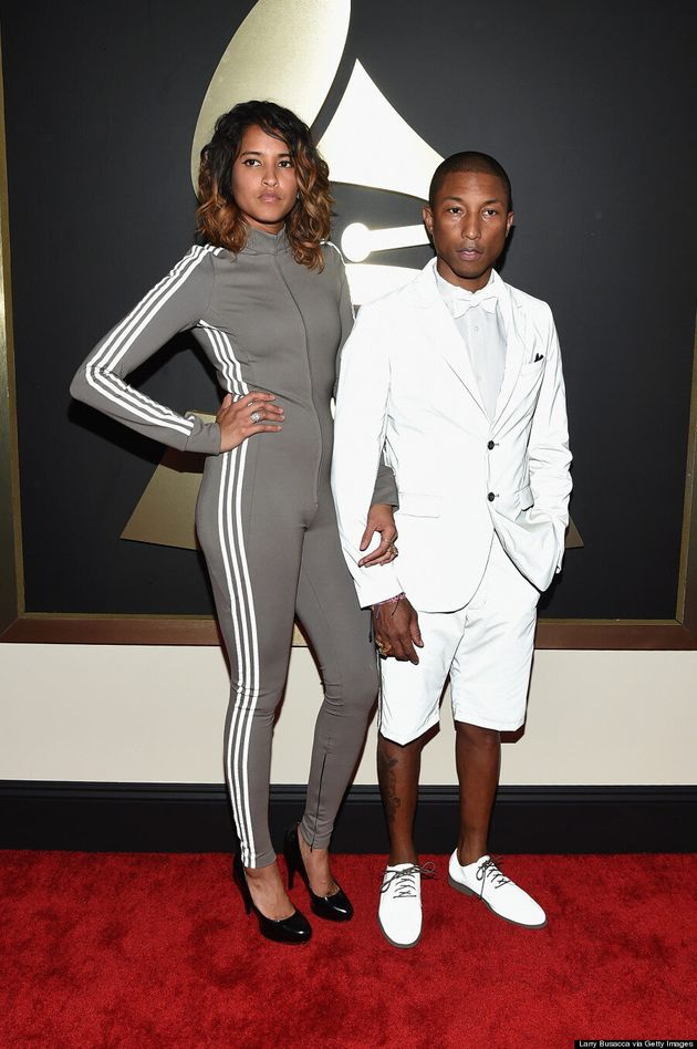 Pharrell Williams' Grammys 2015 Outfit Fooled Us