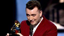 WATCH: Sam Smith's Grammy Acceptance Speech Has Staying