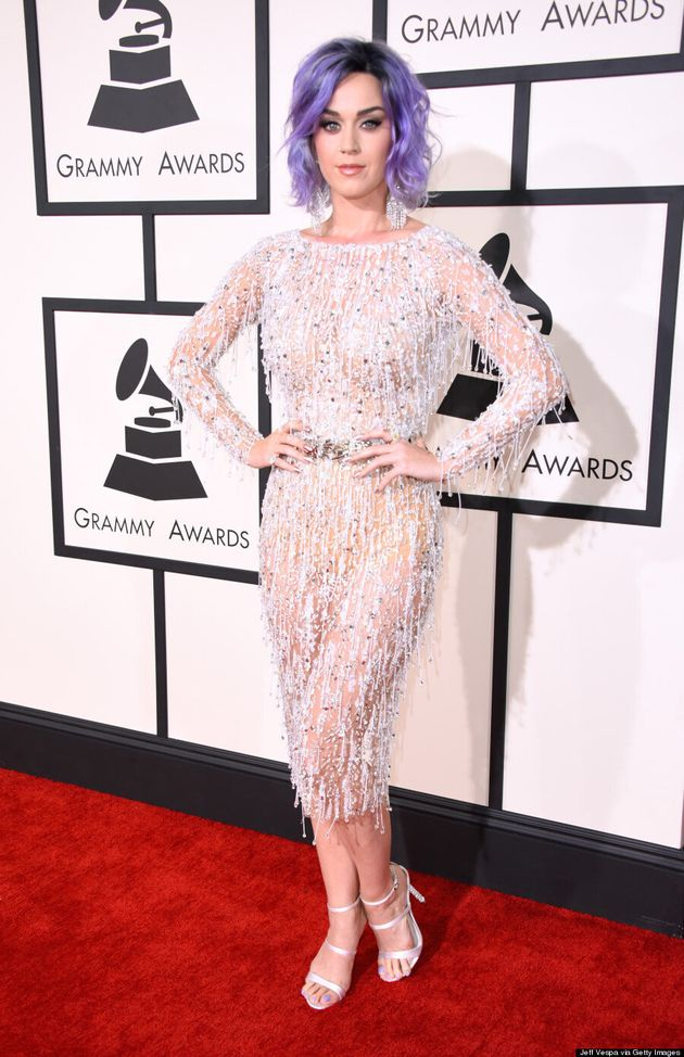 Katy Perry Wears $2M In Diamonds To The 2015
