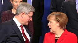 Merkel To Meet With Harper To Discuss Ukraine