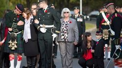 In Pictures: Canada Says Goodbye To A Fallen