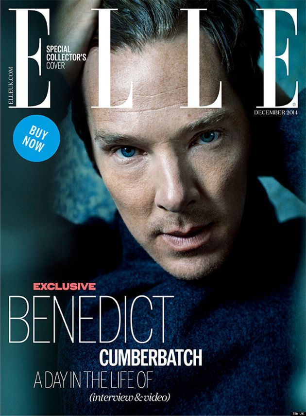 Benedict Cumberbatch Smoulders On The Cover Of Elle