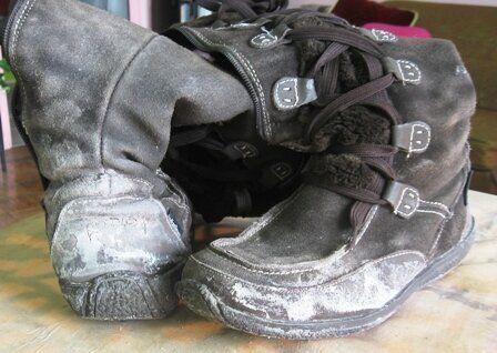 Salt: Your Winter Boots' Natural