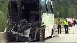 B.C. Highway Tour Bus Crash Injures Dozens Of
