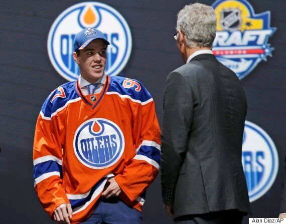 Connor McDavid Drafted First Overall By Edmonton