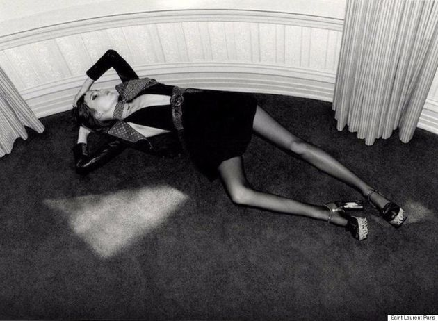 Yves Saint Laurent Ad Banned For Featuring 'Underweight'