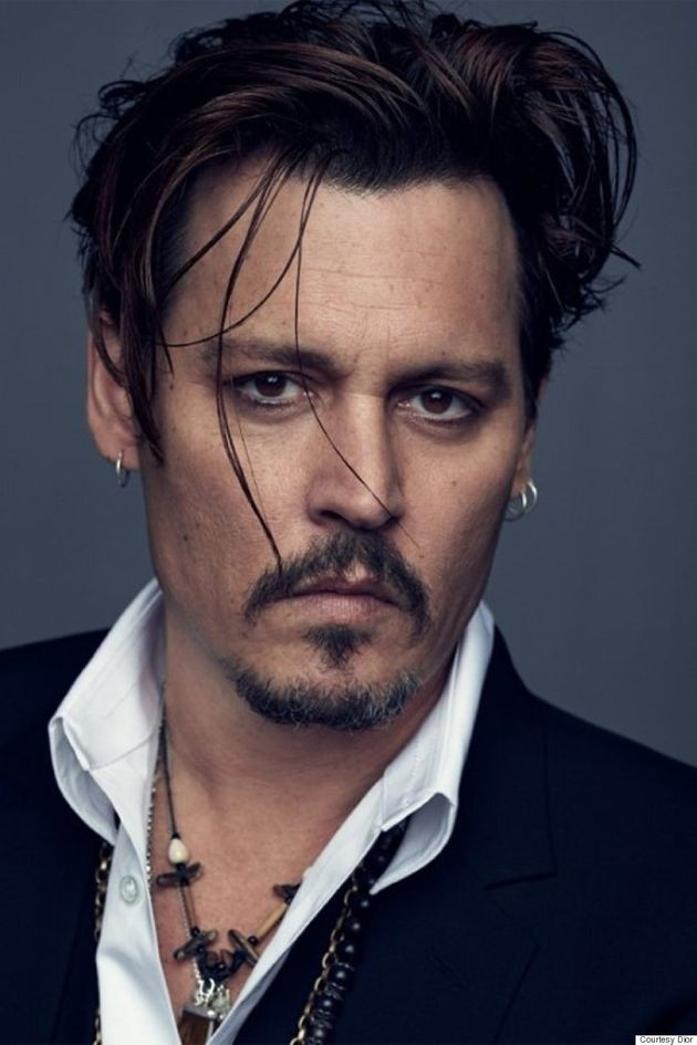 Johnny Depp Becomes New Face Of Dior Men's