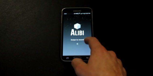 Alibi App Lets Smartphones Record Video, Audio, Location