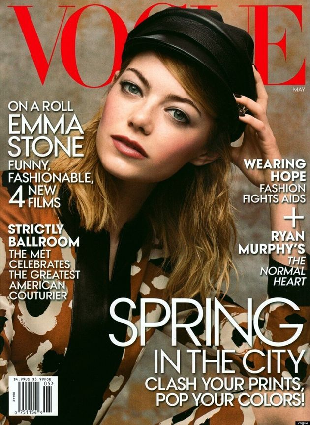Emma Stone Covers Vogue's First Post-Kim Kardashian