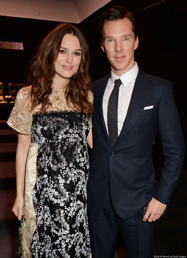 Benedict Cumberbatch Is A Dapper Companion To Keira