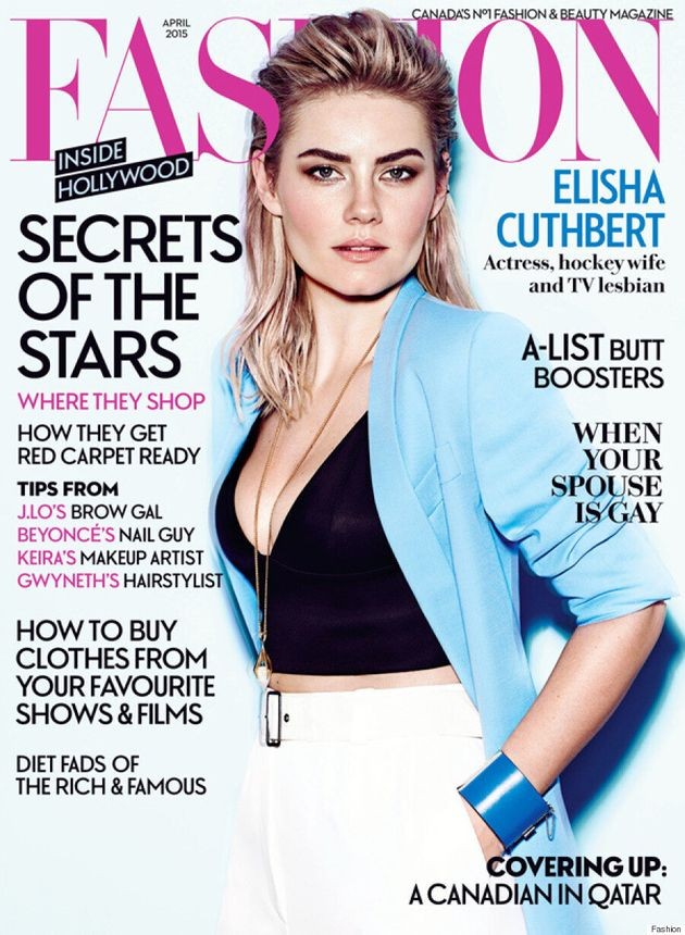 Elisha Cuthbert Goes Glam On The Cover Of