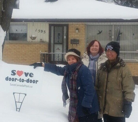 The London Group Challenging Stephen Harper's End to Home