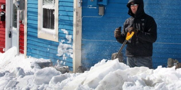 Newfoundland Hit With Blizzard Conditions, 40 Cm Of Snow Expected To