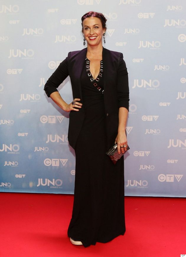 Alanis Morissette Junos 2015: Canadian Icon Goes Chic On The Red
