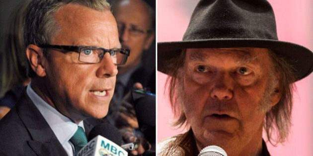 Brad Wall, Saskatchewan Premier, Says Neil Young's Oilsands Comments Missing The