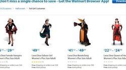 Walmart Makes Massive Halloween Costume
