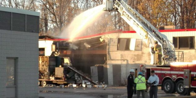 Sarnia Explosion Leaves 5 Veolia Workers In