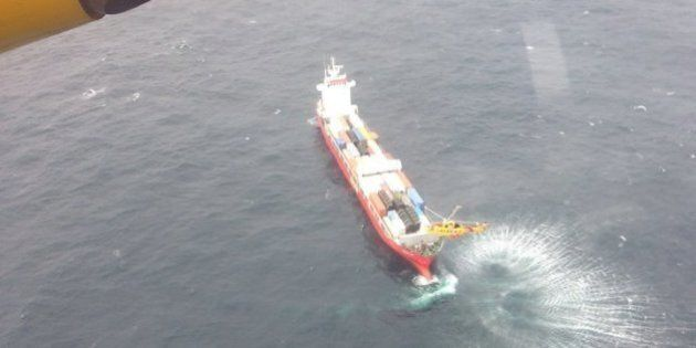 Disabled Cargo Ship Heading Home To Russia After Repairs At B.C.
