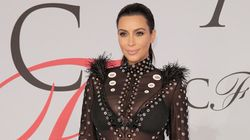 Kim Kardashian's CFDA Awards Dress Leaves Little To The