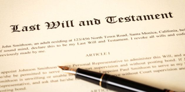 What Happens When a Will Is Challenged? | HuffPost Canada