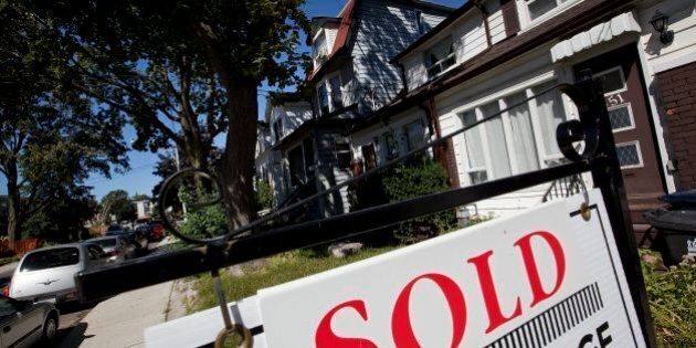 Average Canadian House Price Up 10% To